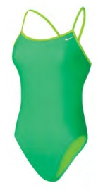 NIKE Core Solids Cut-Out Tank (Electro Green (356))