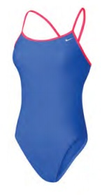 NIKE Core Solids Cut-Out Tank (Paramount Blue (411))