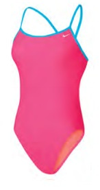 NIKE Core Solids Cut-Out Tank (Racer Pink (673))