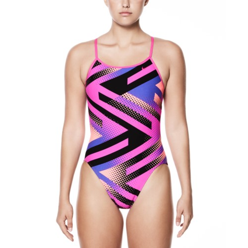 0421012c70ab3 NIKE SWIM Women's Tidal Riot Performance Modern Cut Out One Piece Swimsuit  Metro price: $24.95 each
