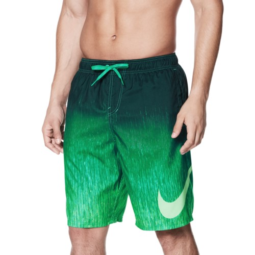 NIKE SWIM Men's Breaker 9inches Volley Short (Clear Emerald (317))