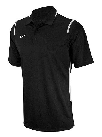 NIKE Men's Game Day Polo (Black (012))