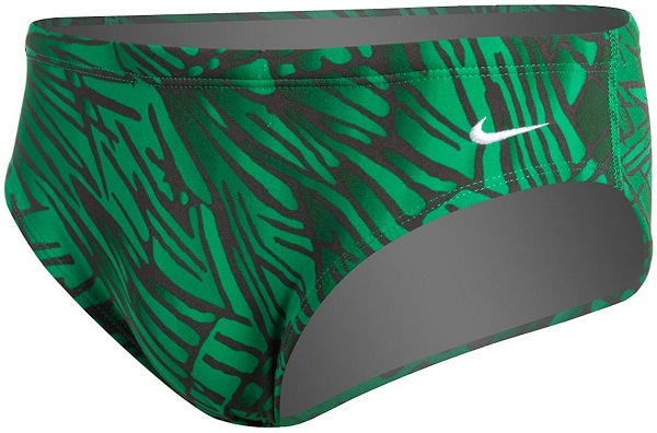 NIKE SWIM Flux Male Poly Brief (Court Green (313))