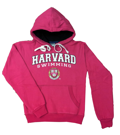 HARVARD Hooded Sweatshirt - 2012 (Pink)