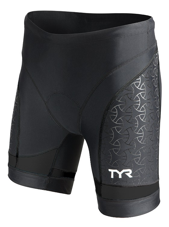 TYR Women's Competitor 6 Inch Tri Short (Black (001))