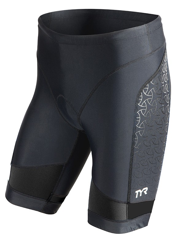 TYR Men's Competitor 9 Inch Tri Short (Black (001))