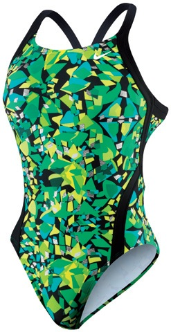 NIKE SWIM Female Competition Suits (Green(300))