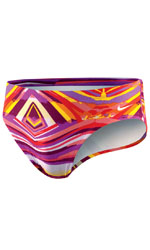 NIKE SWIM Rio Geo Brief  (Magenta)