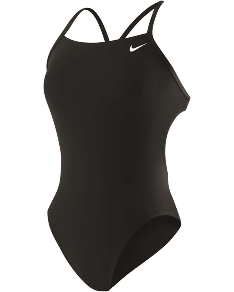 NIKE SWIM Poly Core Solid Female Cut Out Tank TFSS0081