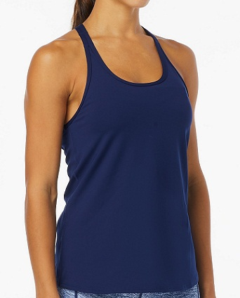 TYR Women's Solid Taylor Tank (Navy (401))