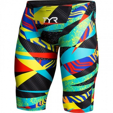 TYR Jammer (Black/Multi (004))
