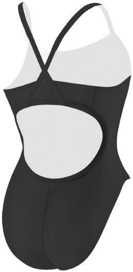 VLX Female Solid Lycra Thin Strap Swimsuit 999002