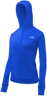 TYR Women's Alliance Warm Up Jacket ( Royal (428))