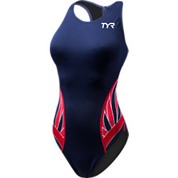 TYR Durafast One Phoenix Splice Female Destroyer (Navy/Red (404))