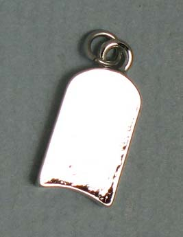 TOTALLY STROKED Kickboard Charm (Silver)
