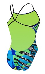 NIKE SWIM Retro Female Cut-Out Tank NESS7041