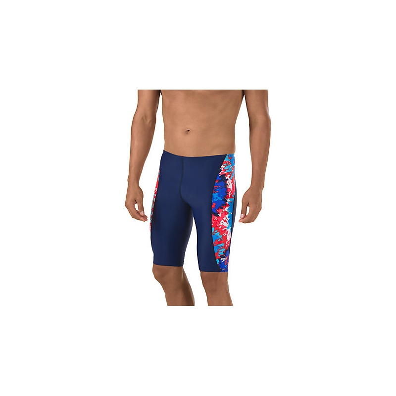 SPEEDO Endurance Lite Men's Burst Jammer (Navy/Red/White (410))
