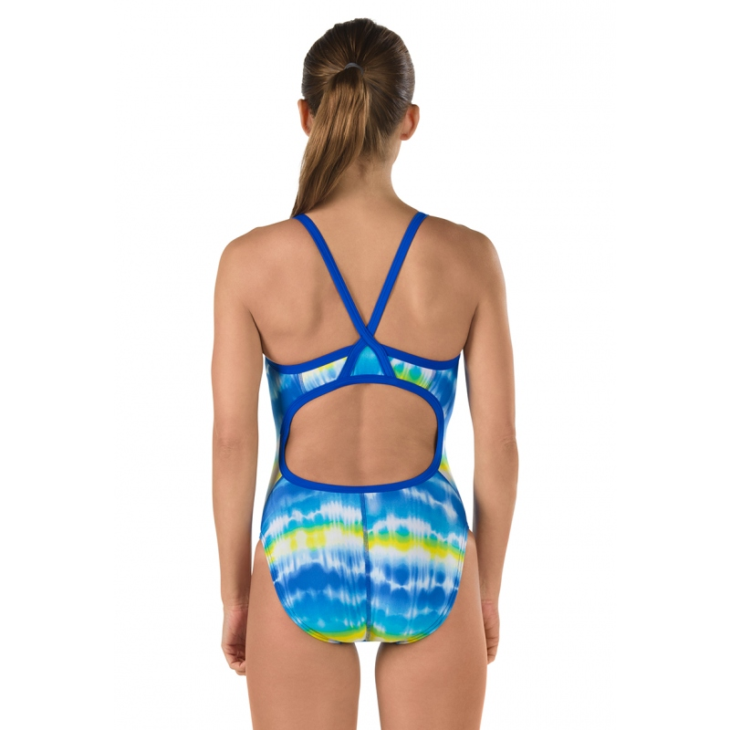 SPEEDO Pro LT Women's Water Supply Flyback - Youth (Sapphire/Gold (977))