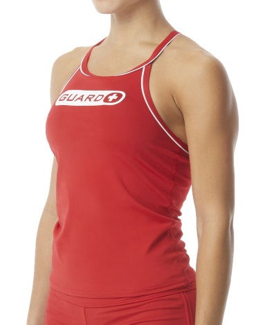 TYR Guard Women's Tankini (Red (610))
